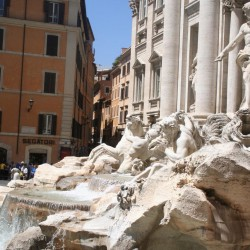 Rome - Fontana di  Trevi (3)